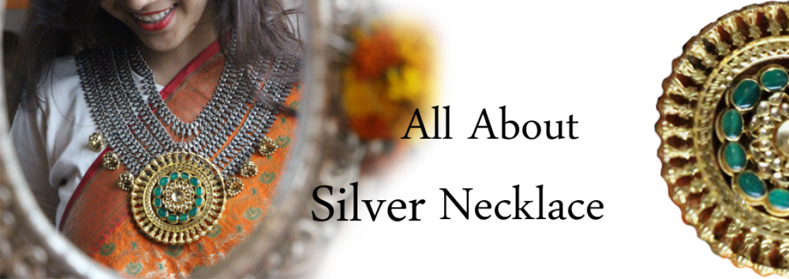 All About Silver Necklace