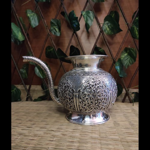 Silver Loti With Spout