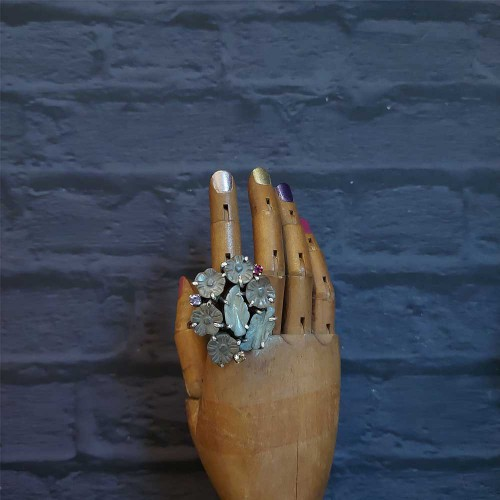 Floral Tribal Ring