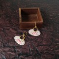 Gulabi Padma Earrings
