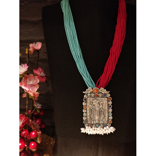 Balaji Fusion Temple Necklace
