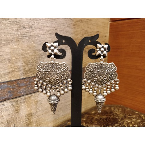 Bohemian Tribal Drop Earring