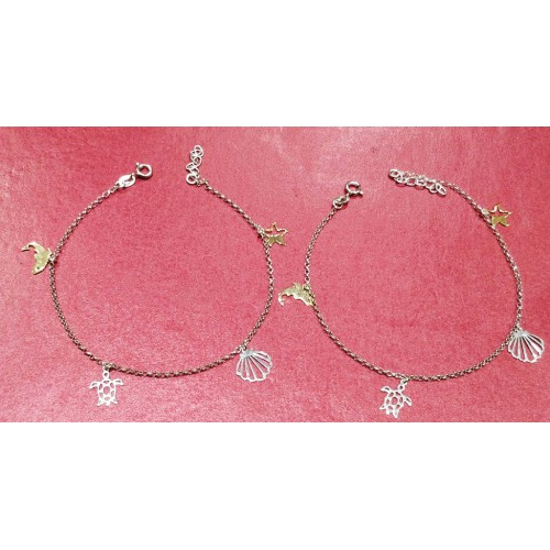 Aquatic Charms Anklet