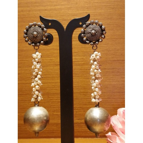Pendulum Style Statement Earrings