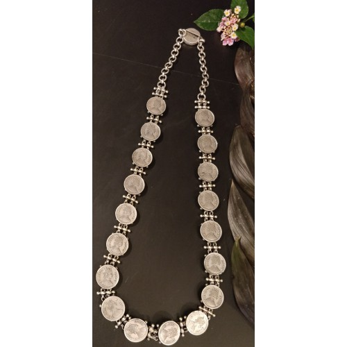 Victorian Coin Necklace