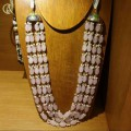 Pearl And Bead Multistrand Necklace