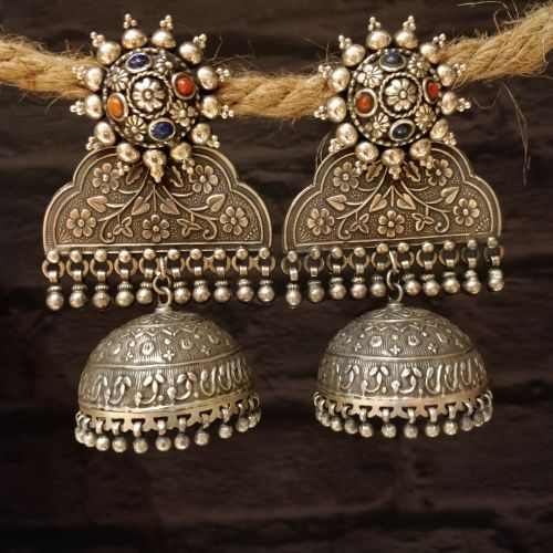 VINTAGE STYLE ANTIQUE CHANDELIER JHUMKA