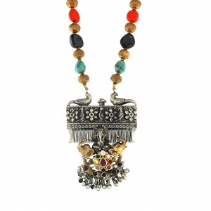 Adidev Navratna Necklace